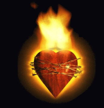 In The Burning Heart