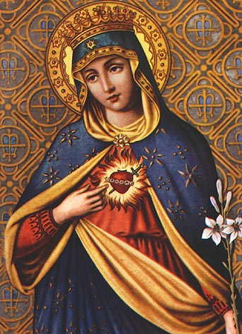 Virgin Mary Catholic Immaculate heart of mary. �