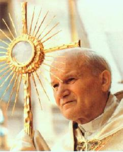 JP II and Holy Eucharist
