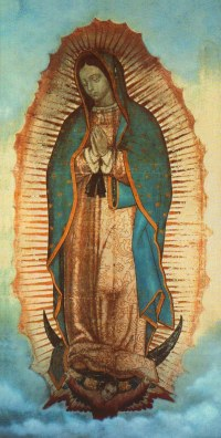 "The ""Star of the New Evangelization' is the title given to Pope St. John Paul II to Our Lady of Guadalupe."