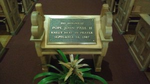 Blessed JP 2 kneeler in Phoenix