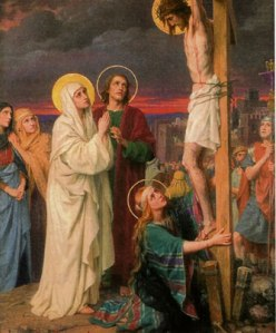 Mary and John at the Foot of the Cross - Behold your Mother