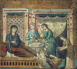 Nativity of BVM P Cavallini