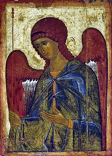 St. Gabriel - byzantine icon