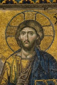 Mosaic Image of Jesus