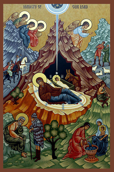 Nativity - Eastern Icon
