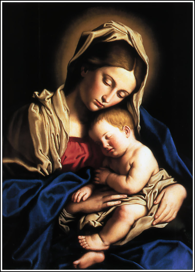 Blessed Mother Mary And Jesus mary-baby-jesus1
