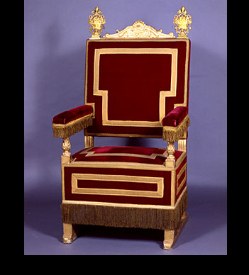 Lovely Papal Throne