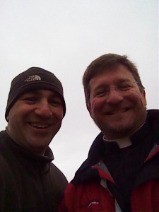 Fr. Don Kline and Tom Perna