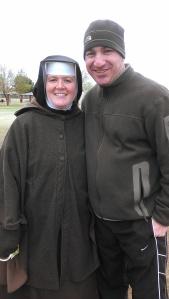 Sr. Mary Fidelis and Tom Perna