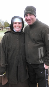 Sr. Mary Fidelis and Tom Perna
