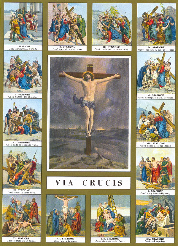 Lent And The Stations Of The Cross Tom Perna