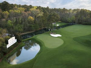 11th hole at Augusta National