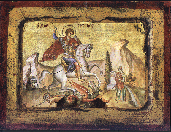 St. George-Icon