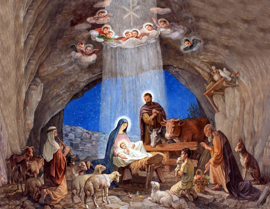 900 x 695 jpeg 151kB, Shepherds-field-nativity-painting-munir-alawi