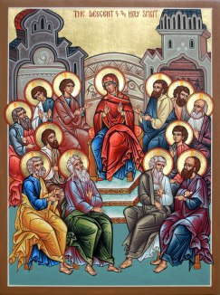 Pentecost - Eastern Icon