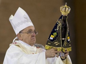 Pope Francis at Aparecida