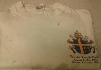 WYD 1993 T-shirt