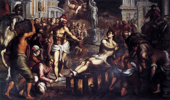 the-martyrdom-of-st-lawrence-palma-giovane