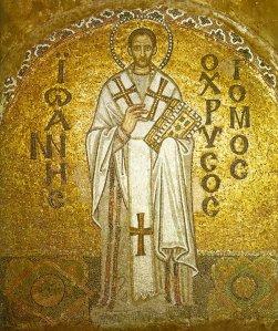 St. John Chrysostom- Mosaic