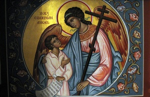 Holy Guardian Angel Icon
