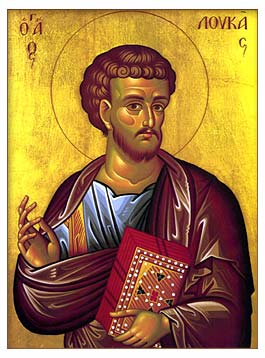 12 Points about Saint Luke the Evangelist and His Accounts   TOM PERNA