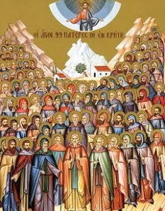 Communion of Saints Icon