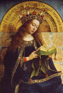 Mary Ponders The Word of God