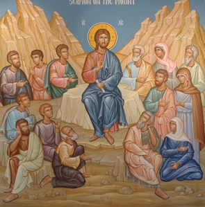 Sermon on the Mount Icon