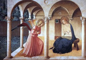 The Annunciation - Fra Angelico