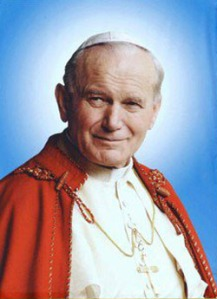 Beatification Pic of JP II