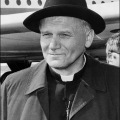 An undated and unlocated portrait of Jean Paul II.