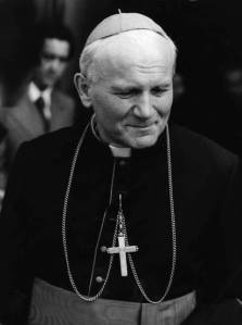 Bishop Karol Wojtyla.