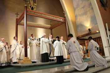 The ordination of Fr. Chris Axline and Fr. Kurt Perea (June 2013).