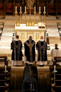 Requiem Mass with Black Vestments
