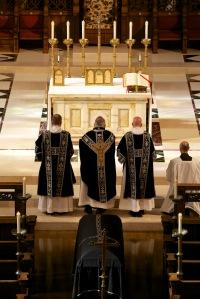 Requiem Mass with Black Vestments