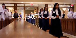 Sisters of Mary Postulants 2014