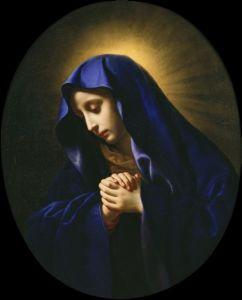 Our Lady of Sorrows.Carlo Dolci