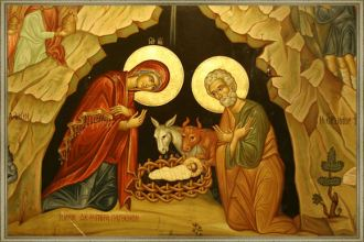 Birth of Jesus Christ Icon