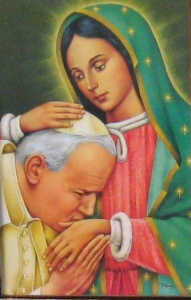 JP2 and Our Lady of Guadalupe