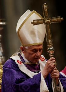 pope benedict on ash wednesday