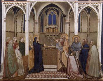 Presenation of Jesus in the Temple - Giotto di Bondone