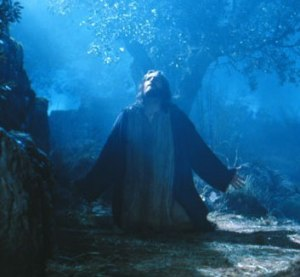 Jesus in the Garden - Passion of Christ film
