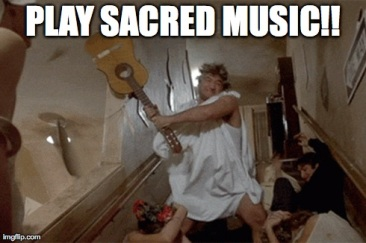 Play Sacred Music