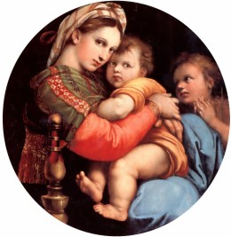 Madonna of the Chair - Raphael
