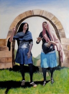 Visitation, Oil on Canvas. For more from Steve Bird, visit his website - http://www.stevebirdart.com