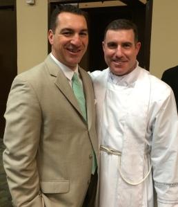 Fr. Pat and me