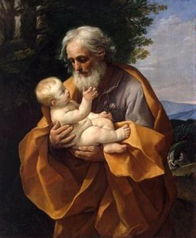 St. Joseph with Infant Jesus by Guido Reni