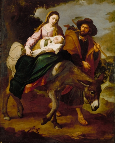 Image result for the flight of the holy family