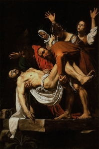 The Entombment of Christ - Caravaggio